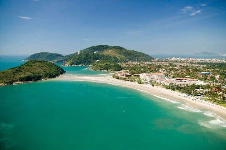 La playa mas cercana a Sao Paulo es Guaruja. Foto: Archivo