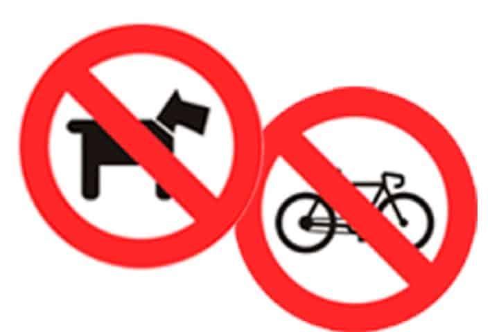 Cosas prohibidas en el Parque Bicentenario Foto | colegio Nazaret.edu.mx