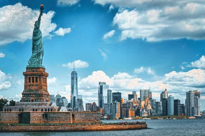 ¡Qué hermosa vista de la ciudad de Nueva York! Foto: Plant Based News