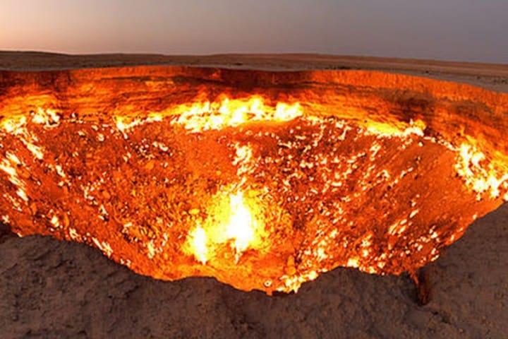 Crater de un volcán. Foto: HSLP.