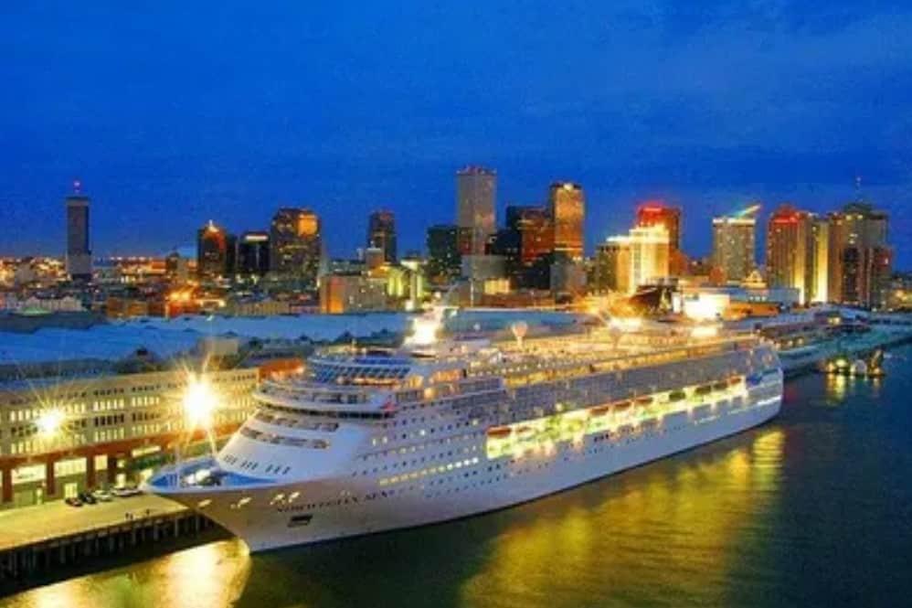 Crucero en el Puerto de Nueva Orleans Foto: Archivo
