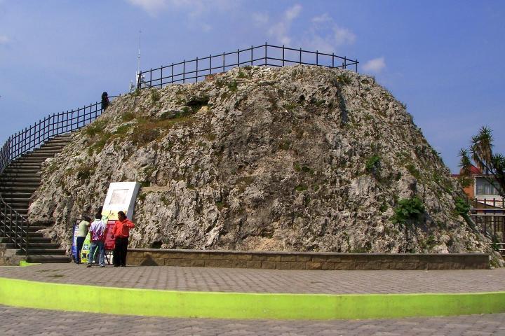 El volcán Cuexcomate. Foto: Yo soy de Puebla.