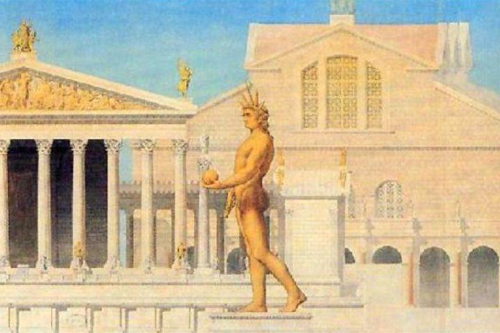 Curiosidades del Coliseo Romano. Coloso de Nerón. Foto: Archivo