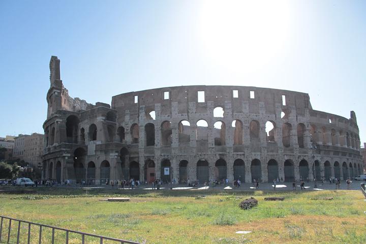 Curiosidades del Coliseo Romano. Foto Laura Suarez