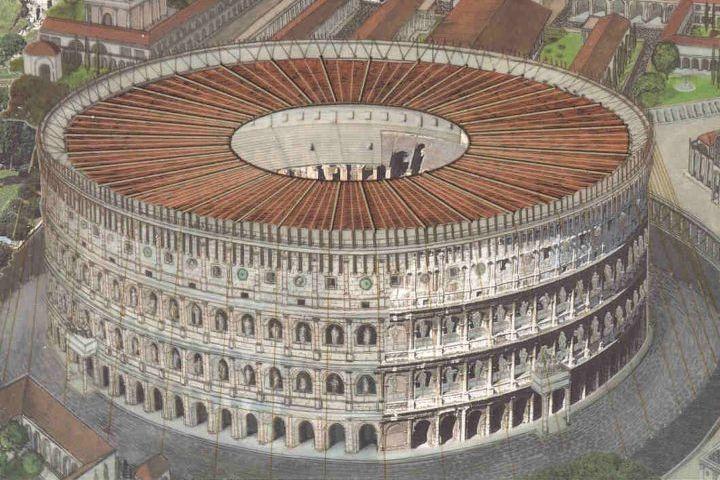 Curiosidades del Coliseo Romano. Velario. Imagen: Ven al mundo clásico