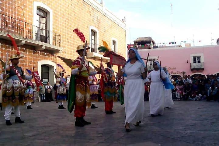 Danza de los Migueles Foto: Puebla y su cultura