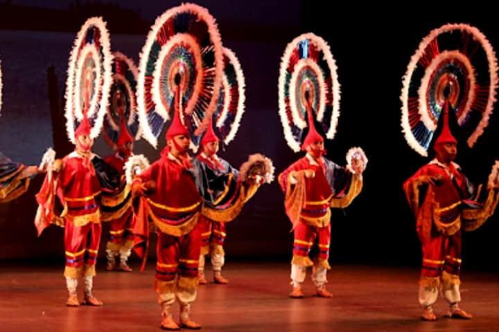 Danza del Quetzal en la BUAP. Foto: BUAP.