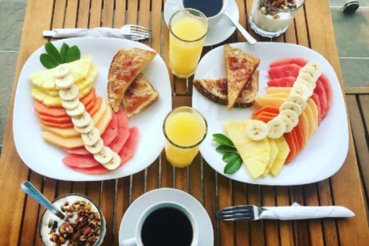 Desayuno continental Foto Donaire