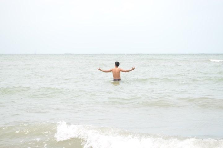 Disfruta de las aguas de Ciudad del Carmen, ¿Qué esperas para volar? Foto Miroshlava Jiménez