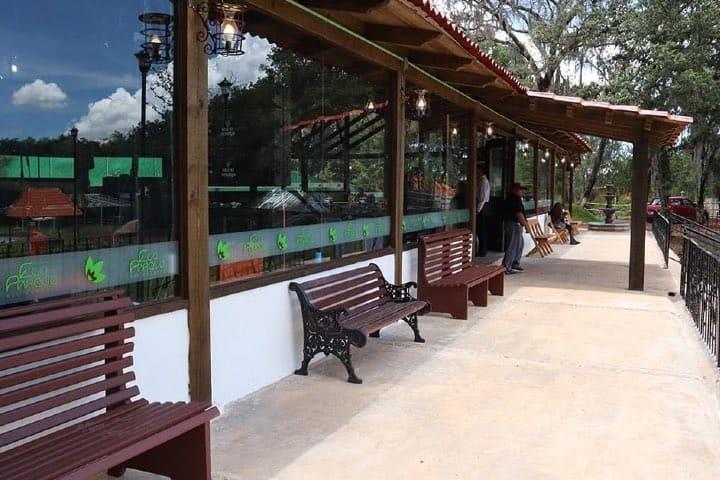 Disfruta de las delicias culinarias que te ofrece el lugar Foto: EcoParque el Marqués | Facebook