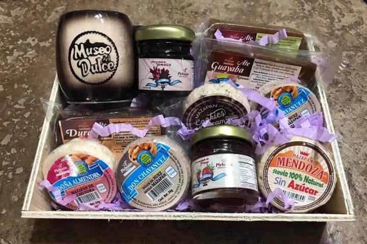 Dulces que encontrarás en la dulcería oficial del museo Foto: Museo del Dulce | Facebook