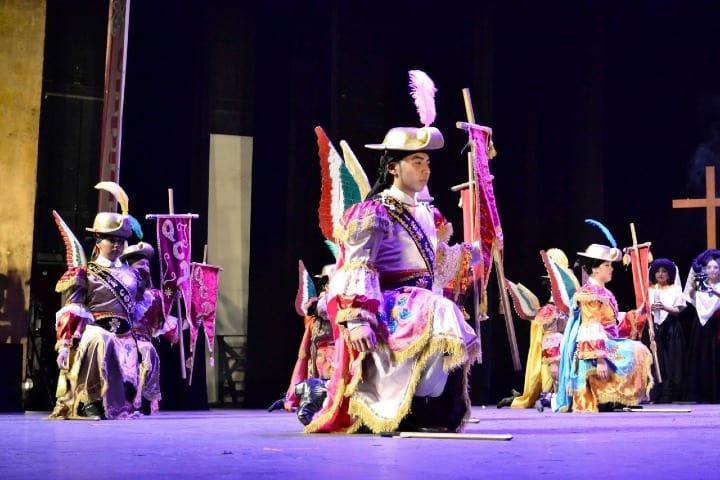 Ejercito de Ángeles Danza de los Migueles Foto: Grupo Artístico Mexicano Macuilxochitl