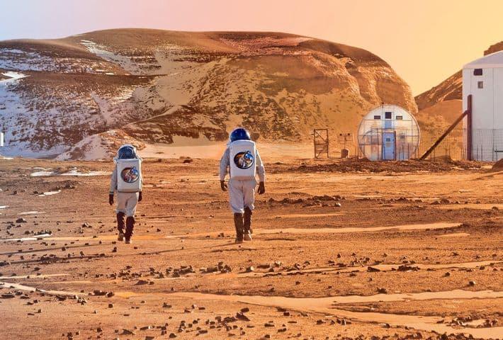 El Pinacate funcionó como lugar de pruebas para astronautas de la NASA Foto: IMAE