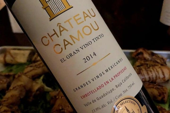 El gran vino tinto de Chateau Camou. Foto: Copas y corchos.