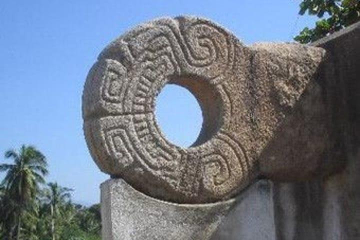 """""""Zona arqueologica Teopantecuanitlán"""" Foto: Archivo histórico del INHA."""