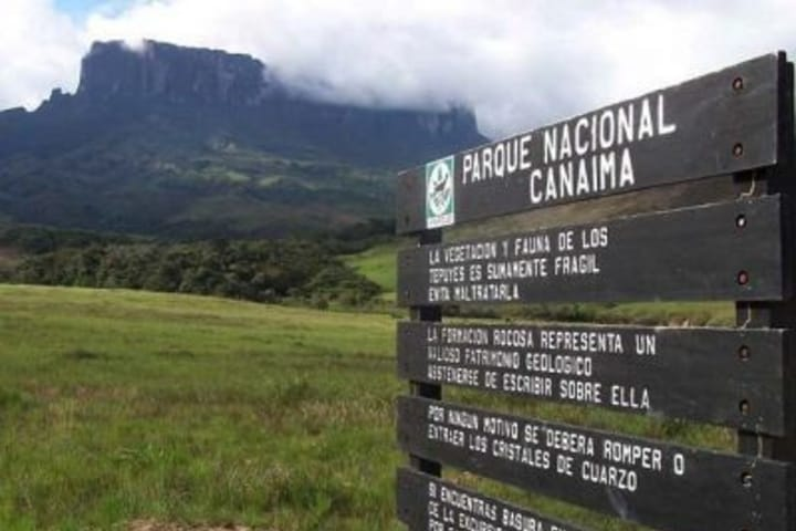 Entrada al Parque Nacional Camaina. Foto: Archivo.