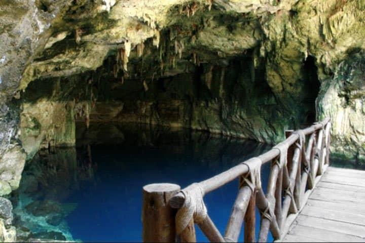 Entrada al cenote Foto: Gobierno de Yucatán