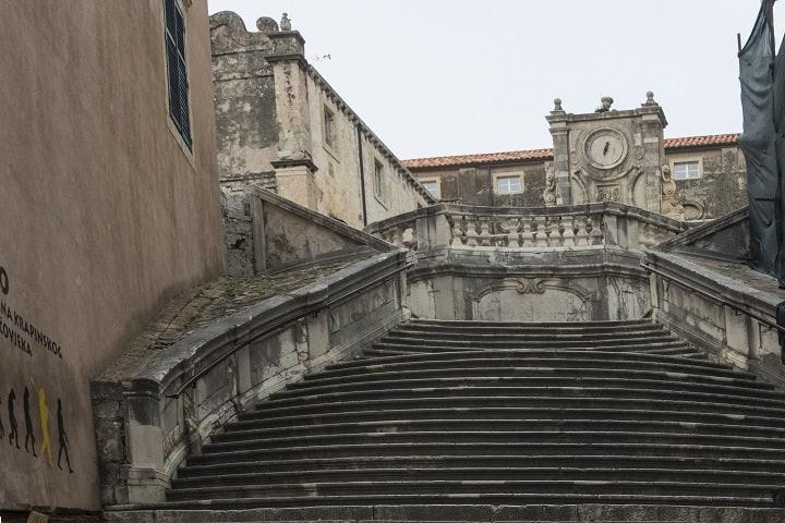 Inicio del recorrido de la vergüenza de Cersei (Dubrovnik). Foto: Rodrigo Caicedo)
