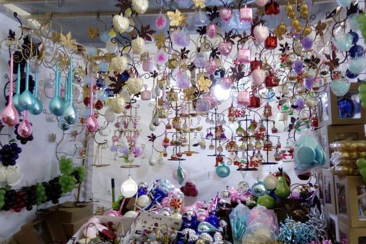 Las mil esferas de distintos modelos Foto: Taller García