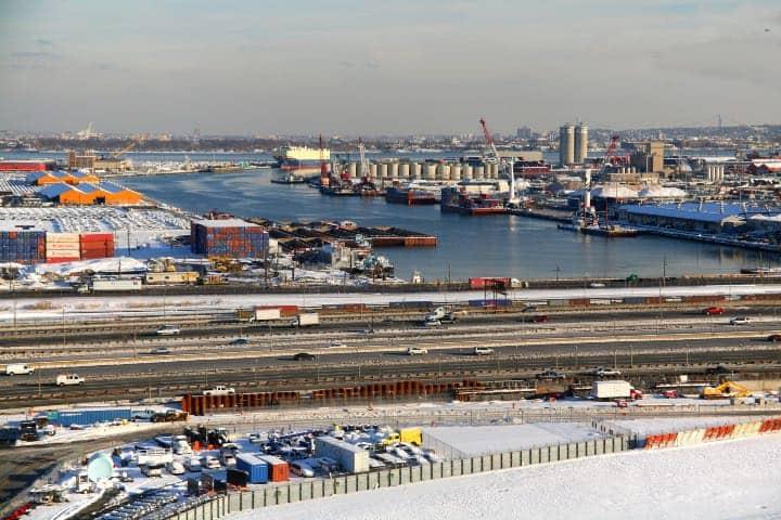 Este puerto se encuentra entre Nueva York y Nueva Jersey Foto: Doc Searls