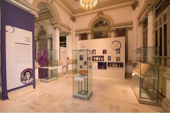 Exposición en el museo del Palacio Cantón Foto: INAH
