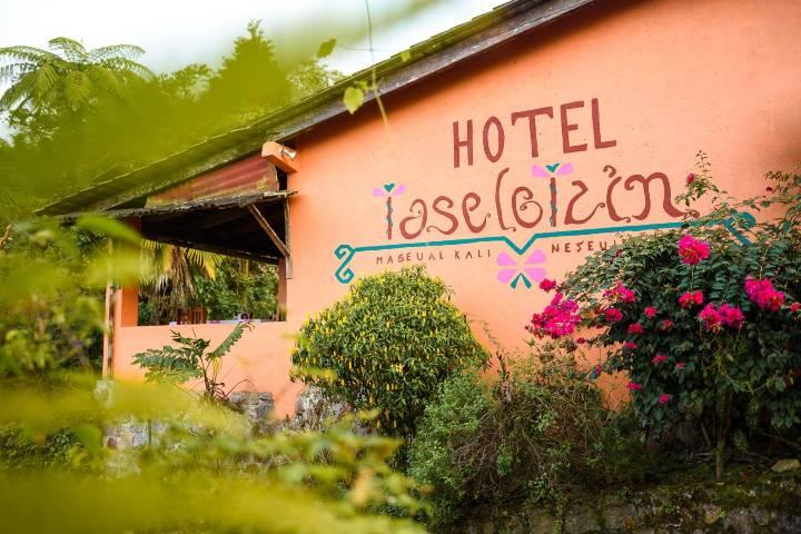 Fachada Foto Hotel Taselotzin | Facebook
