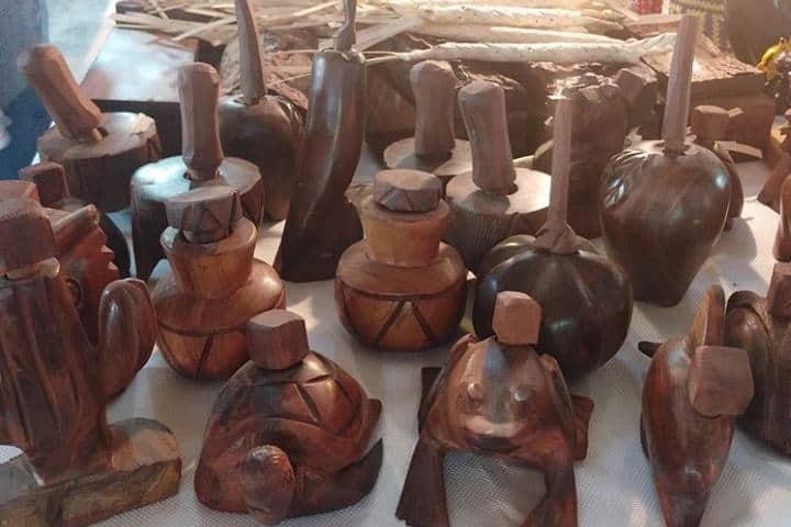 Artesanías de Sonora en el mercado Foto: guerito2303