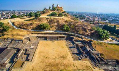 Gran Pirámide de Cholula. Foto: Cholula - Corazón de Puebla.