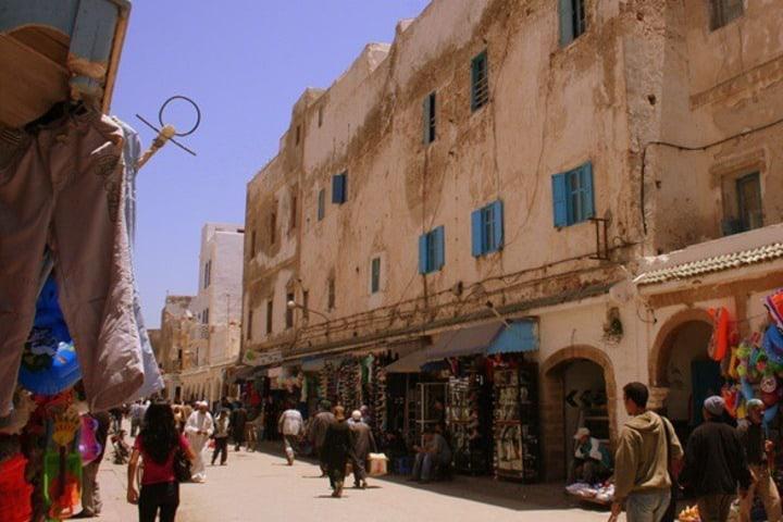 Hay dos pueblos Bereber cerca de Ouzoud. Foto: Viajero Fisgón.