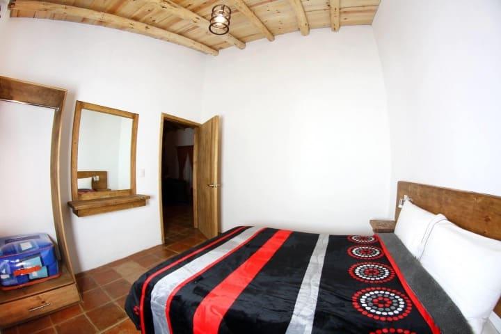 Hospedarte en este es posible gracias a las cabañas qué hay aquí Foto: EcoParque el Marqués | Facebook