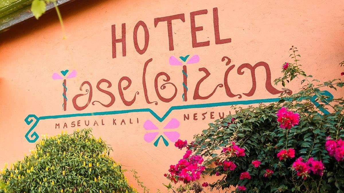 Hotel Taselotzin en Cuetzalan Puebla