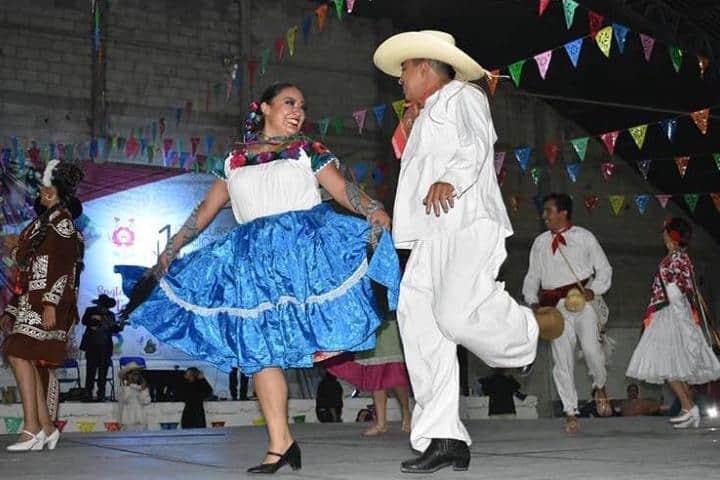 Huapango, baile tradicional en Hidalgo. Foto Huapango, Cultura y Tradición | Instagram
