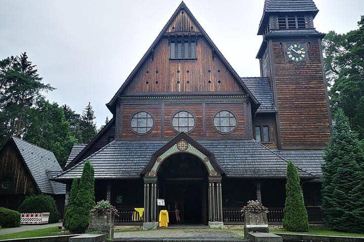 Iglesia de Winden. Foto: Diana Cmj
