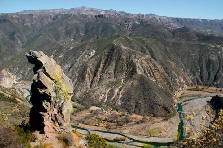 Imponente paisaje de Peña del aire Foto: Hidalgo Travel