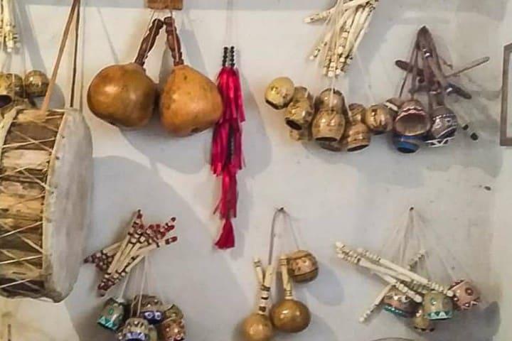 Instrumentos musicales Foto: Cooperativa de Artesanos Indígenas de Sonora