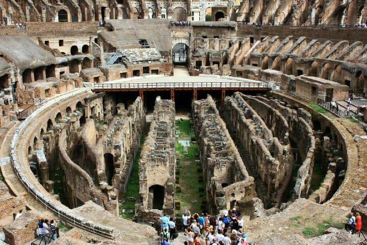 Coliseo por adentro. Foto: Archivo