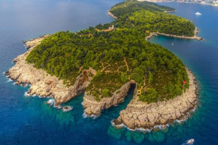 Isla Lokrum. Foto: Croatia Excursions.