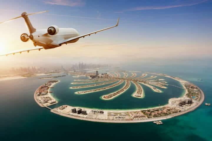Jet Privado en Dubai Foto Canva
