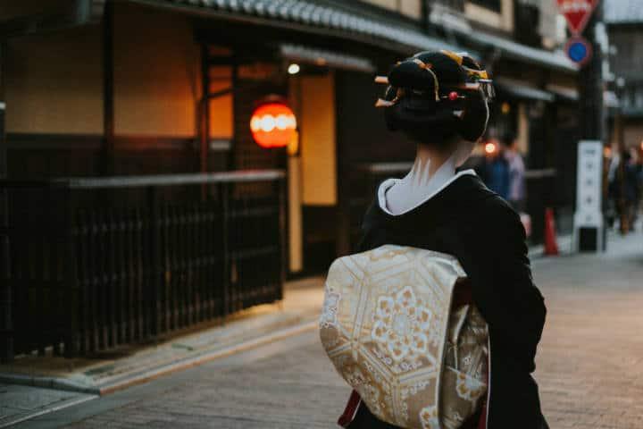 Kioto Distrito de Gion Foto Jie Unsplash