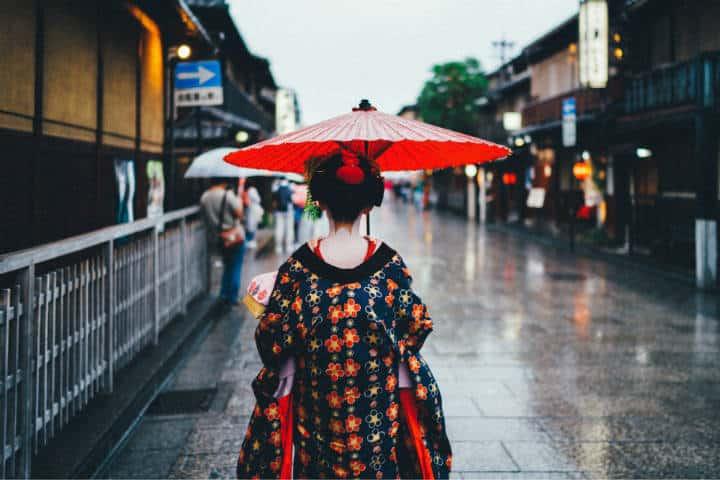 Kioto Distrito de Gion Foto Tianshu Liu Unsplash
