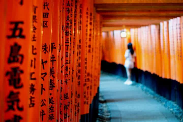 Kioto Fushimi Inari-Taisha. Foto Jase Bloor Unsplash