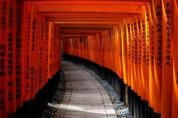 Kioto Fushimi Inari-Taisha-johanna-persson-unsplash