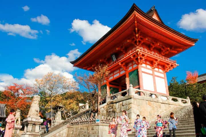 Kioto Kiyomizu Dera. Foto Mai Hoang Unsplash