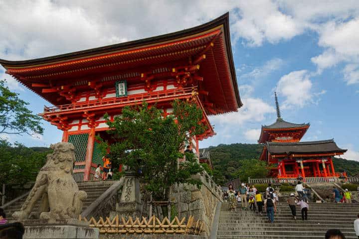 Kioto Kiyomizu Dera. Foto: Sebastian-kurpiel-unsplash