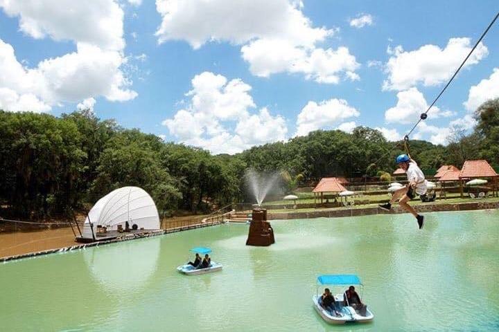 La diversión es garantizada en este parque Foto: EcoParque del Marqués | Facebook