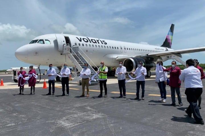 La nueva ruta de Volaris Ciudad de México - Ciudad del Carmen está de oferta, ¿Qué esperas para disfrutar? Foto Miroshlava Jiménez