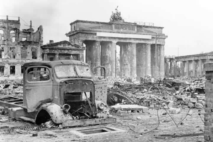 Este es el panorama que dejó la Segunda Guerra Mundial. Foto: Los Viajes Grimes
