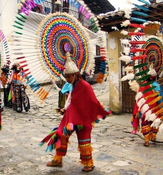 La Danza del Quetzal. Foto: Cuetzalan Mágico.