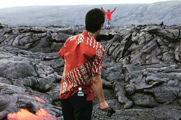 Lagunas de lava Foto hamham12121 | instagram