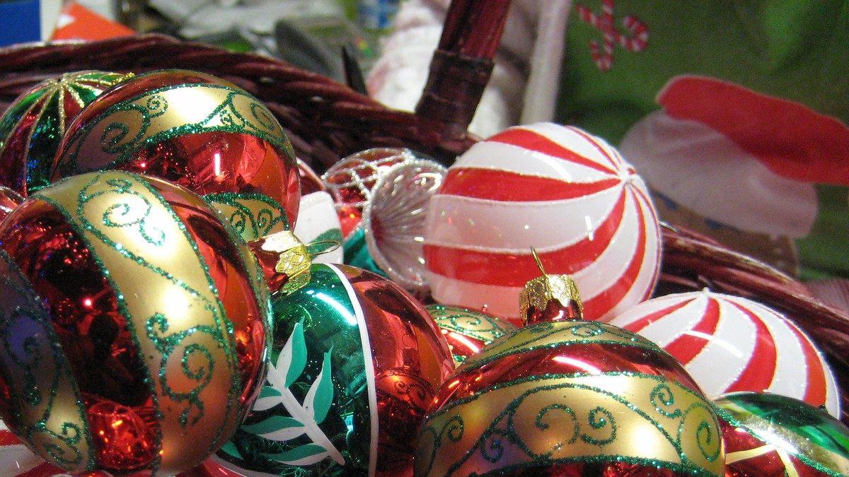 Las hermosas esferas de una hermosa tradición. Foto por Angelica Portales